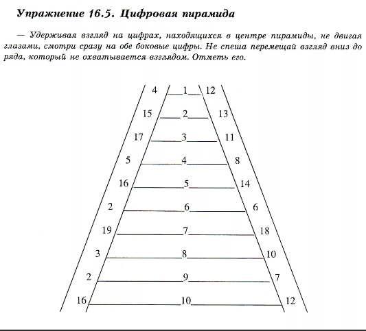 """Упражнение """"Пирамидка"""""""
