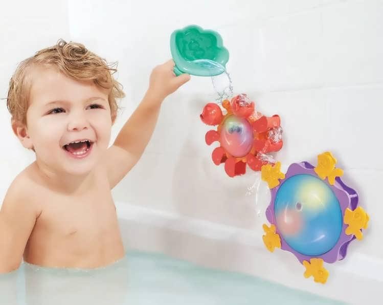 Водный фонтан в ванной