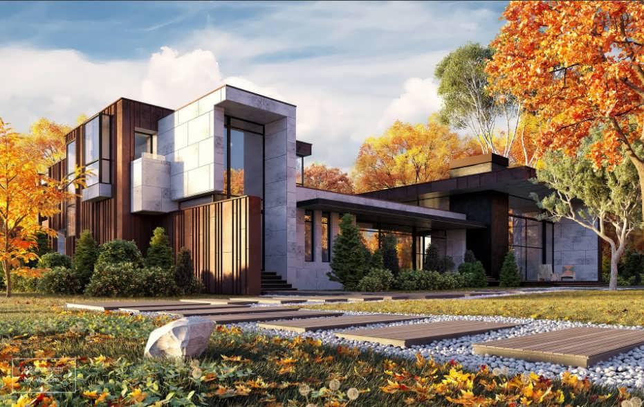 Визуализация дома мечты